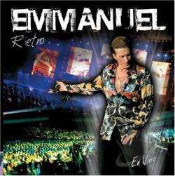 Emmanuel - Retro: En Vivo CD Cover Art