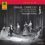 Orch Der Wiener Staatsoper / Pretre / Strauss, R. - Richard Strauss: Capriccio CD Cover Art