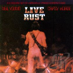 Crazy Horse / Young, Neil - Live Rust CD Cover Art