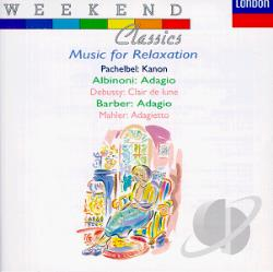 Weekend Classics: Music for Relaxation CD Cover Art