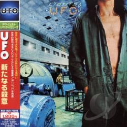 U.F.O. - Lights Out CD Cover Art