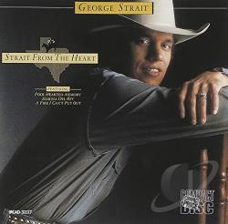 Strait, George - Strait from the Heart CD Cover Art
