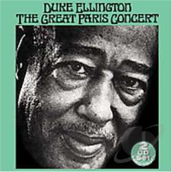 Ellington, Duke - Great Paris Concert CD Cover Art