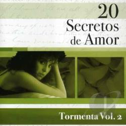 Tormenta - Vol. 2 - 20 Secretos De Amor CD Cover Art