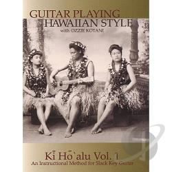 Kotani, Ozzie - Kotani,Ozzie Vol. 1 - Guitar Playing Hawaiian Style Ho'Alu: An In DVD Cover Art