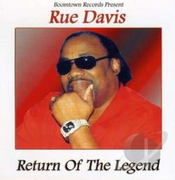 Davis, Rue - Return of the Legend CD Cover Art
