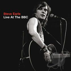 Earle, Steve - Live at the BBC CD Cover Art