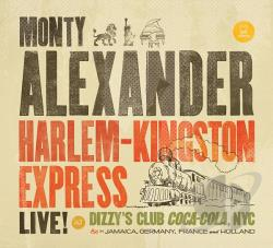 Alexander, Monty - Harlem-Kingston Express CD Cover Art