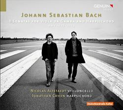 Altstaedt / Bach / Cohen - Bach: 3 Sonatas for Viola da Gamba and Harpsichord, BWV 1027-1029 CD Cover Art