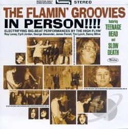 Flamin' Groovies - In Person!!!! CD Cover Art