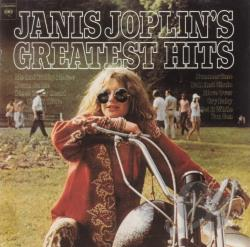 Joplin, Janis - Janis Joplin's Greatest Hits CD Cover Art