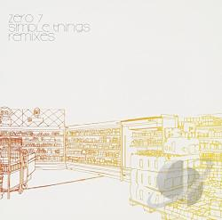 Zero 7 - Simple Things Remixes CD Cover Art