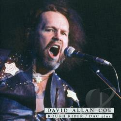 Coe, David Allan - Rough Rider/DAC Plus CD Cover Art