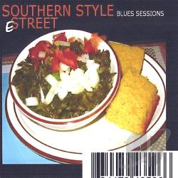 E - Southern Style: Blues Sessions CD Cover Art