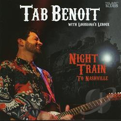 Benoit, Tab - Night Train to Nashville CD Cover Art