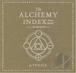 Thrice - Alchemy Index, Vols. 3-4: Air & Earth CD Cover Art
