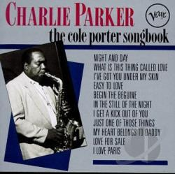 Parker, Charlie - Cole Porter Songbook CD Cover Art