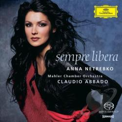Netrebko, Anna - Sempre Libera CD Cover Art