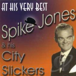Jones, Spike - At His Very Best CD Cover Art