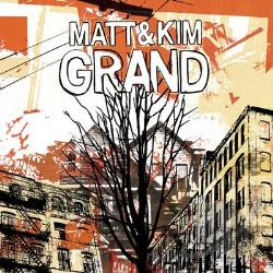 Matt & Kim - Grand CD Cover Art