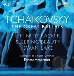 Orchestre De La Suisse Romande / Tchaikovsky - Tchaikovsky: The Great Ballets CD Cover Art