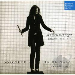 Oberlinger, Dorothee - French Baroque: Versailles 1700-1740 CD Cover Art