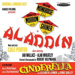 Original London Cast - Aladdin CD Cover Art