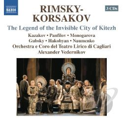 Floris / Gulordava / Rimsky-Korsakov / Vedernikov - Rimsky-Korsakov: The Legend of the Invisible City of Kitezh CD Cover Art