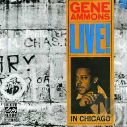 Ammons, Gene - Live! In Chicago CD Cover Art