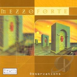 Mezzoforte - Observations CD Cover Art