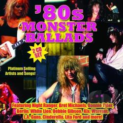 '80s Monster Ballads CD Cover Art