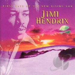 Hendrix, Jimi - First Rays of the New Rising Sun CD Cover Art
