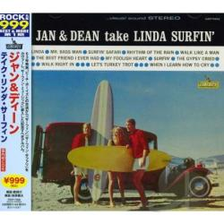 Jan & Dean - Jan & Dean Take Linda Surfin' CD Cover Art