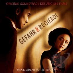 Desplat, Alexandre - Lust, Caution: Original Motion Picture Soundtrack CD Cover Art
