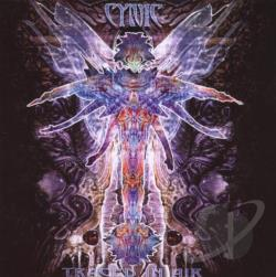 Cynic - Traced in Air CD Cover Art