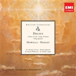 Various Artists - British Composers: Delius DB Cover Art