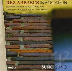 Rez Abbasi's Invocation - Suno Suno CD Cover Art