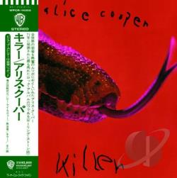 Cooper, Alice - Killer CD Cover Art
