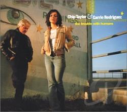 C Taylor / Rodriguez - Trouble With Humans CD Cover Art