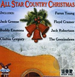 All Star Country Christmas CD Cover Art