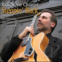 Stone, Rick - Steppin Back CD Cover Art