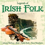 Various Artists - Legends Of Irish Folk DB Cover Art