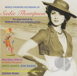 Errico, Melissa - World Premiere Recording of Sadie Thompson CD Cover Art