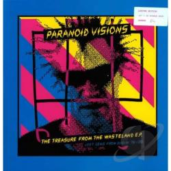 Paranoid Visions - Treasure From A Wasteland LP Cover Art