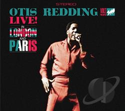 Redding, Otis - Live in London and Paris CD Cover Art