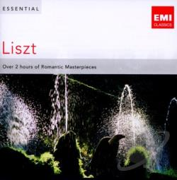 Essential Listz - Essential Liszt CD Cover Art
