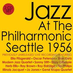 Jazz at the Philharmonic: Seattle 1956 CD Cover Art