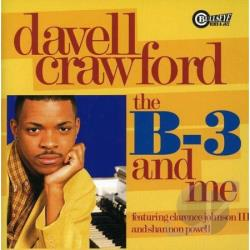 Crawford, Davell - B-3 and Me CD Cover Art