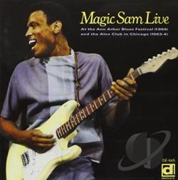Magic Sam - Magic Sam Live CD Cover Art