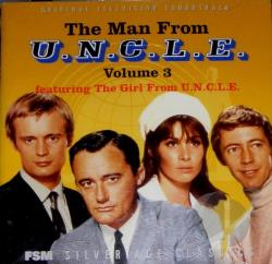 Man From U.N.C.L.E. Vol. 3-Soundtrack - Man From U.N.C.L.E. V.03 CD Cover Art